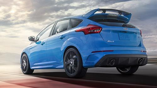 2016 Ford Focus Rs Engineers Drop The Hammer Hot Hatch Buyers To Get Monstrous Output Of 350 Horsepower 350 Lb Ft Torque Ford Focus Rs Ford Focus Focus Rs