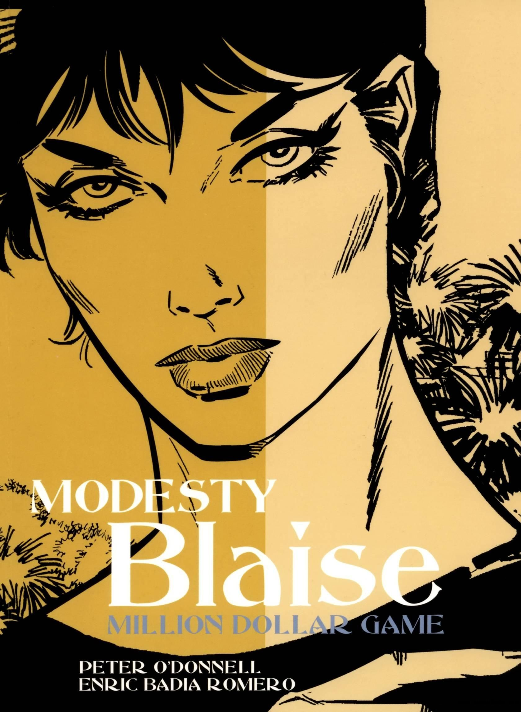 Modesty Blaise  Billion Dollar Game cover  by Enric Badia Romero
