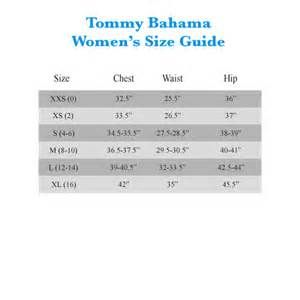Tommy Bahama Women S Size Guide