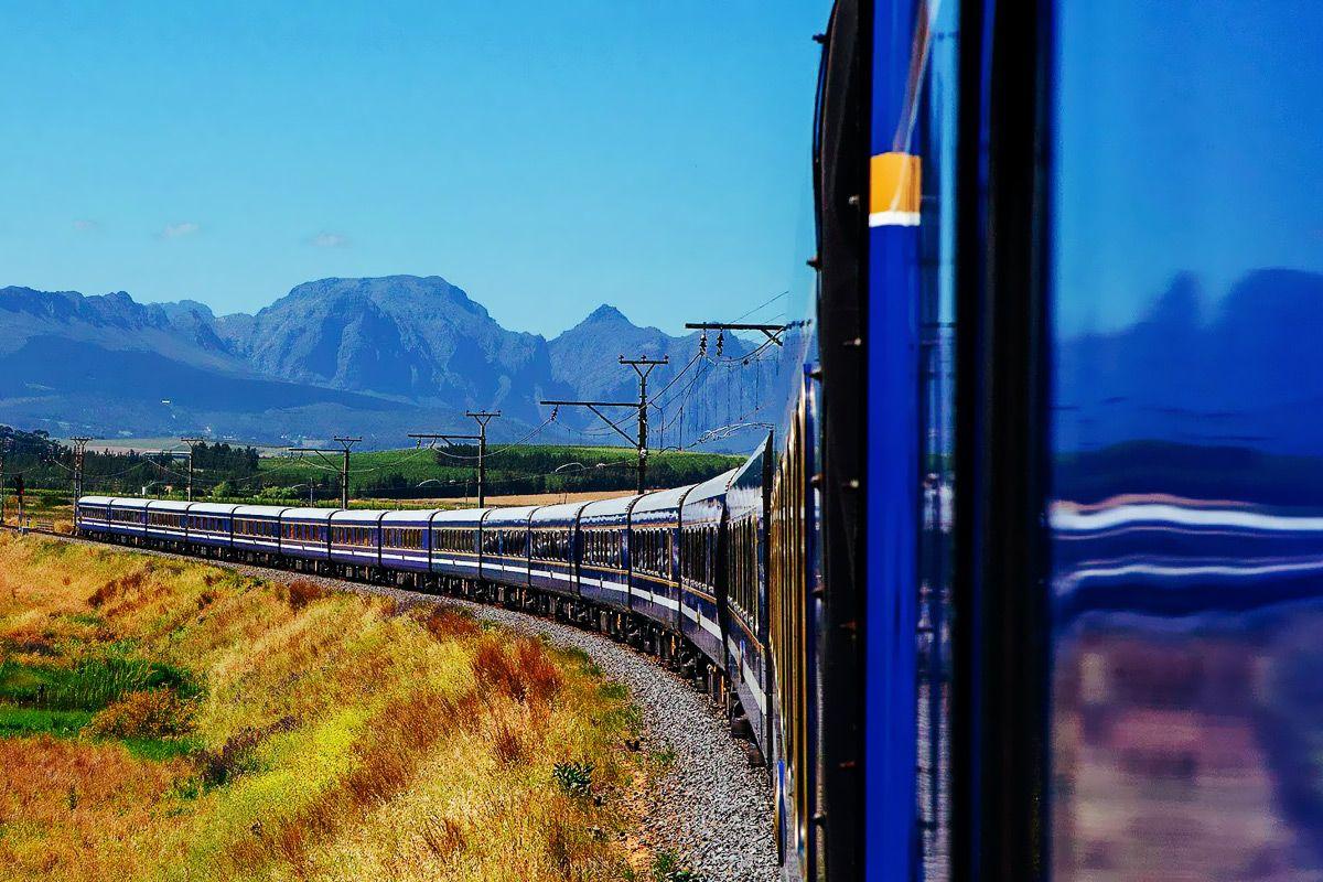 поезд Африка