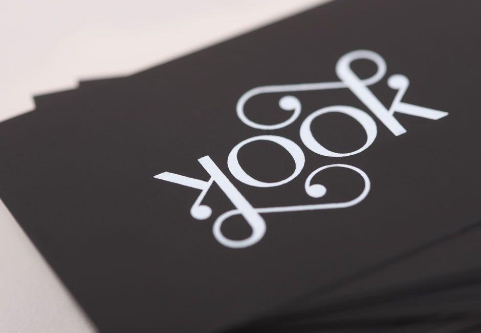 looklook business card detail logos symbols pinterest