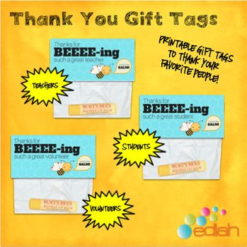 We all love to receive a thank you note or gift for our hard work