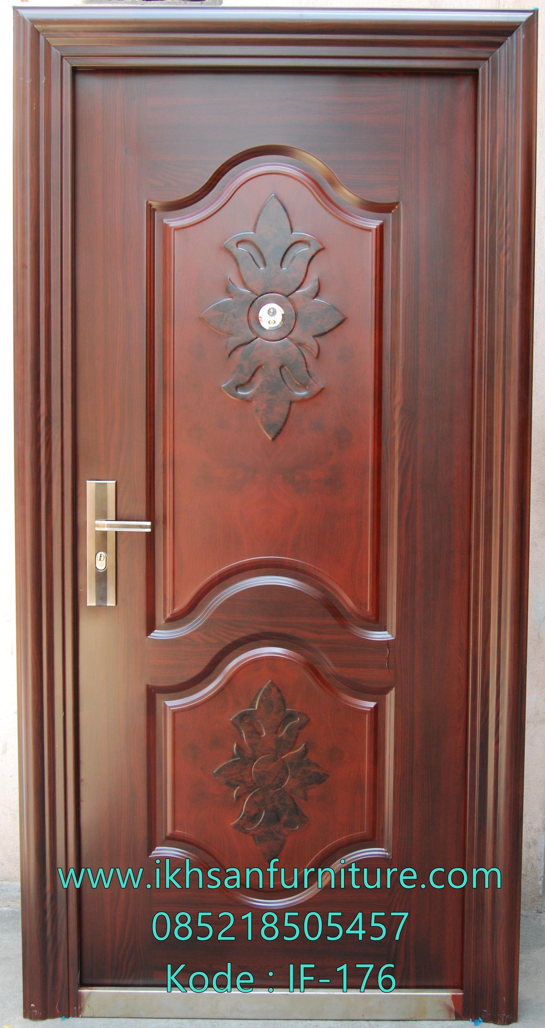 Jual Kusen Pintu Kayu Jati Solid Mewah Model Kusen Pintu