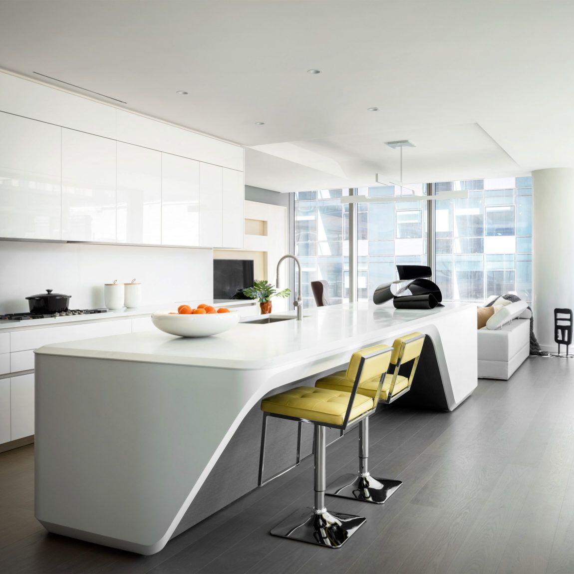 New York Kitchen Design: Stylish Apartment In New York, Exquisitely Decorated By