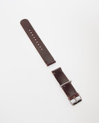 Cordovan Two-Piece Watch Strap