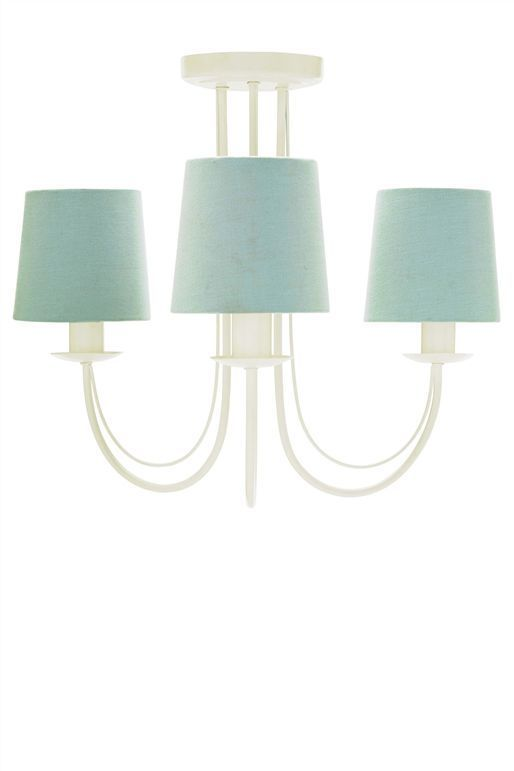 Next Elgin Coast White 3 Ceiling Light Chandelier Shades Not Included