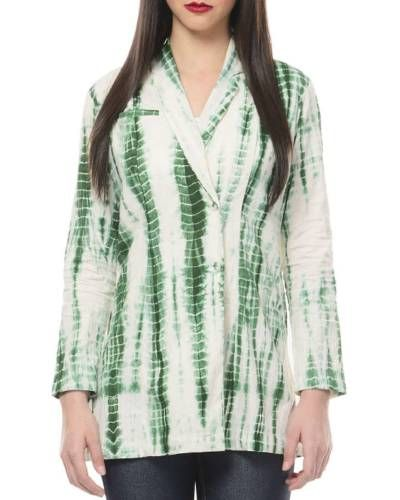 Green Tye And Dye Jacket I Shop at http://www.thesecretlabel.com/ans-by-astha-n-sidharth