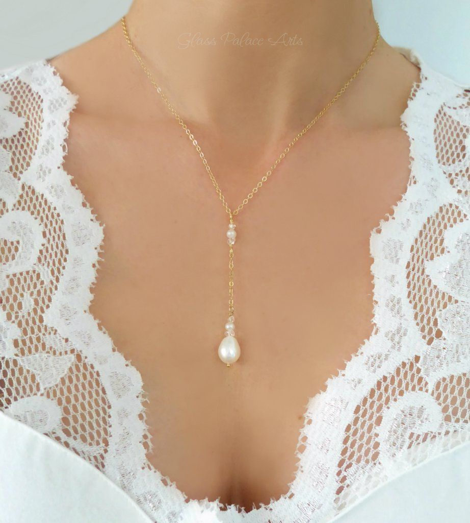 or silver rose gold Herkimer Diamond Beaded Necklace available in gold