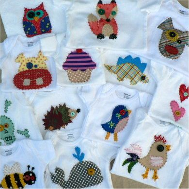 My handmade applique onesies 40 designs Hand Embroidered My - onesies designs