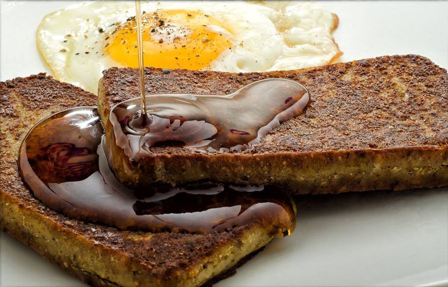 Scrapple and eggs. A Pennsylvania Dutch classic. Any PA B&B\'s out ...