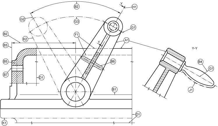 Clases De Lineas Normalizadas Ejercicios De Dibujo Elementos Dibujo Con Lineas