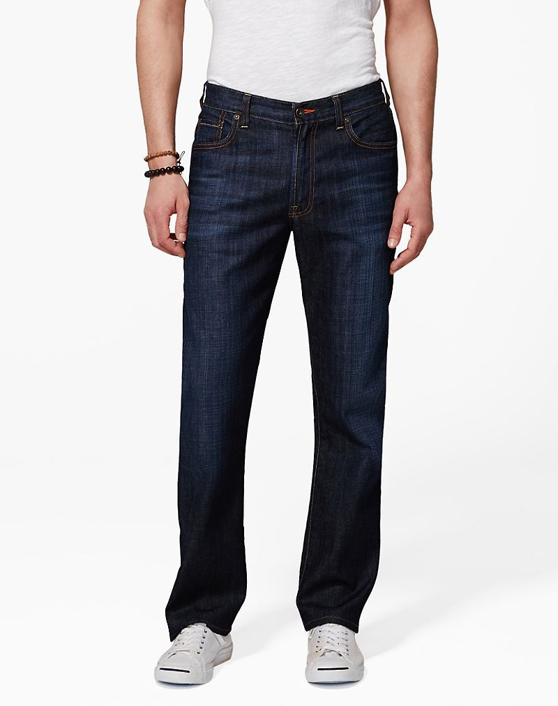 Lucky Brand 181 Relaxed Straight Mens - Dark Pelham (36x30)