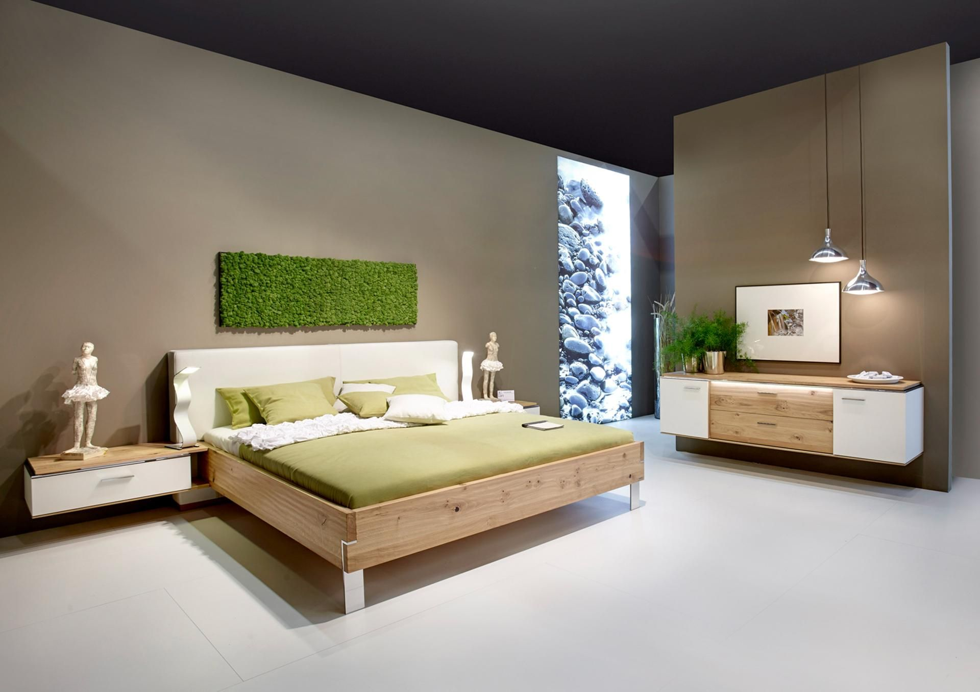 schlafzimmer gestalten farbe Schlafzimmer einrichten