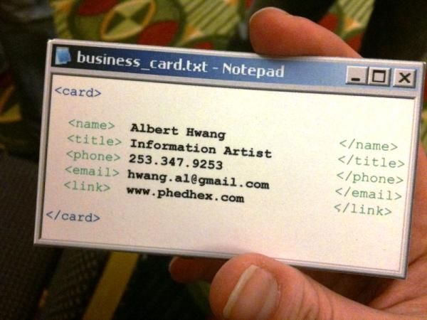 Windows notepad window business card business pinterest windows notepad window business card colourmoves