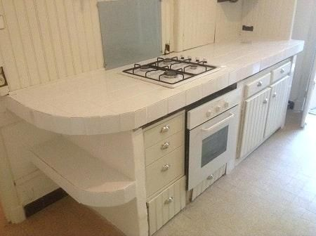Plan de travail exterieur en siporex plan de travail exterieur en siporex 4 de cuisine sur aix - Siporex salle de bain ...