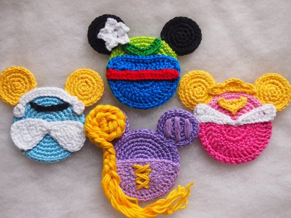 Mickey Minnie Mouse crochet pattern, Discount Pack