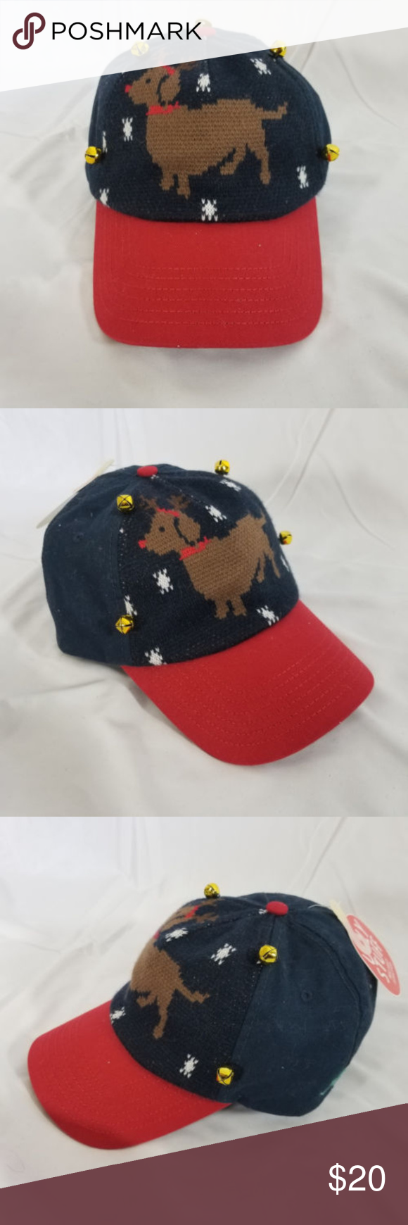 "a75e6d074c3 ... Baseball Hat Christmas New without tags ""Tags Removed To Prevent Store  Returns"" Ugly Stuff Holiday Supply Co. Dachshund Through The Snow W  Jingle  Bells ..."