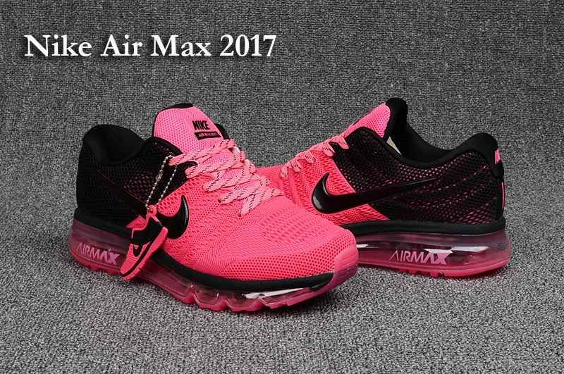 huge discount 8f2f2 86f94 Nike Air Max 2017 3 Women Pink Black Shoes