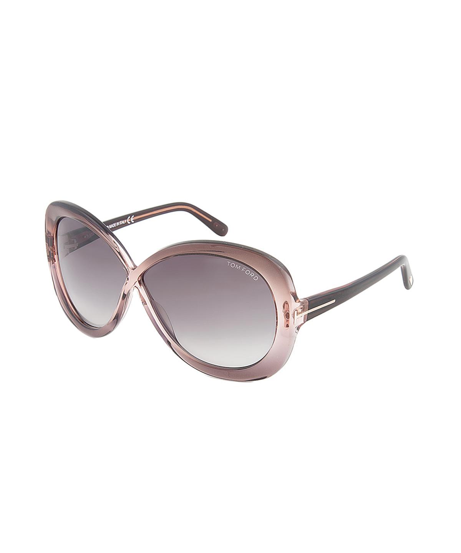 55b9e3865754 TOM FORD TOM FORD EYEWEAR TOM FORD TF226 74B MARGOT PURPLE BUTTERFLY  WOMEN S SUNGLASSES .  tomford  sunglasses