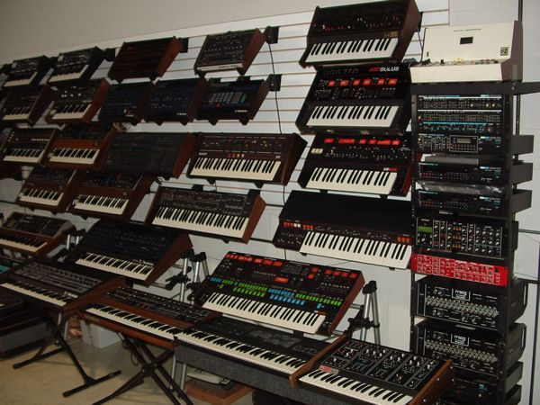 used synths synthesizers music music store recording studio. Black Bedroom Furniture Sets. Home Design Ideas