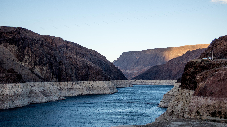 Colorado River Porn - Colorado River seen from the Hoover Dam, Nevada