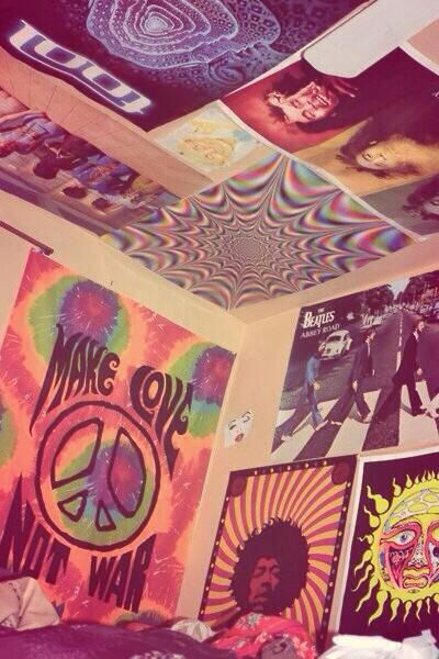 Trippy Posters Grunge Room Chill Room Aesthetic Room Decor