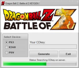 dragon ball z ultimate tenkaichi pc registration code download