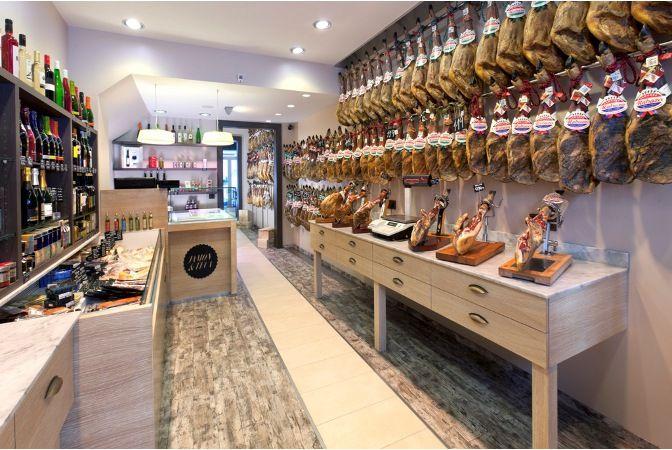 Alimentaci n gourmet dise o de carnicer as charcuter as for Decoracion de supermercados