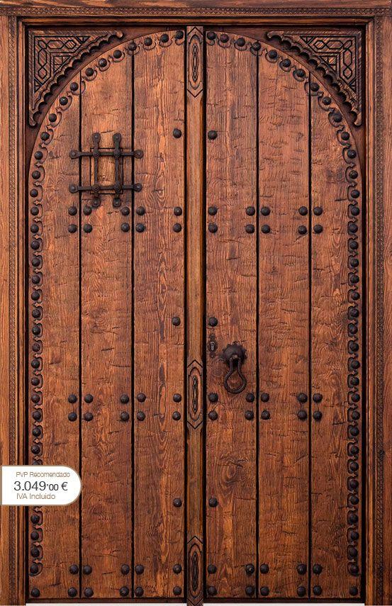 Puertas r sticas alpujarre as artesanos de la puerta - Puertas rusticas de interior ...