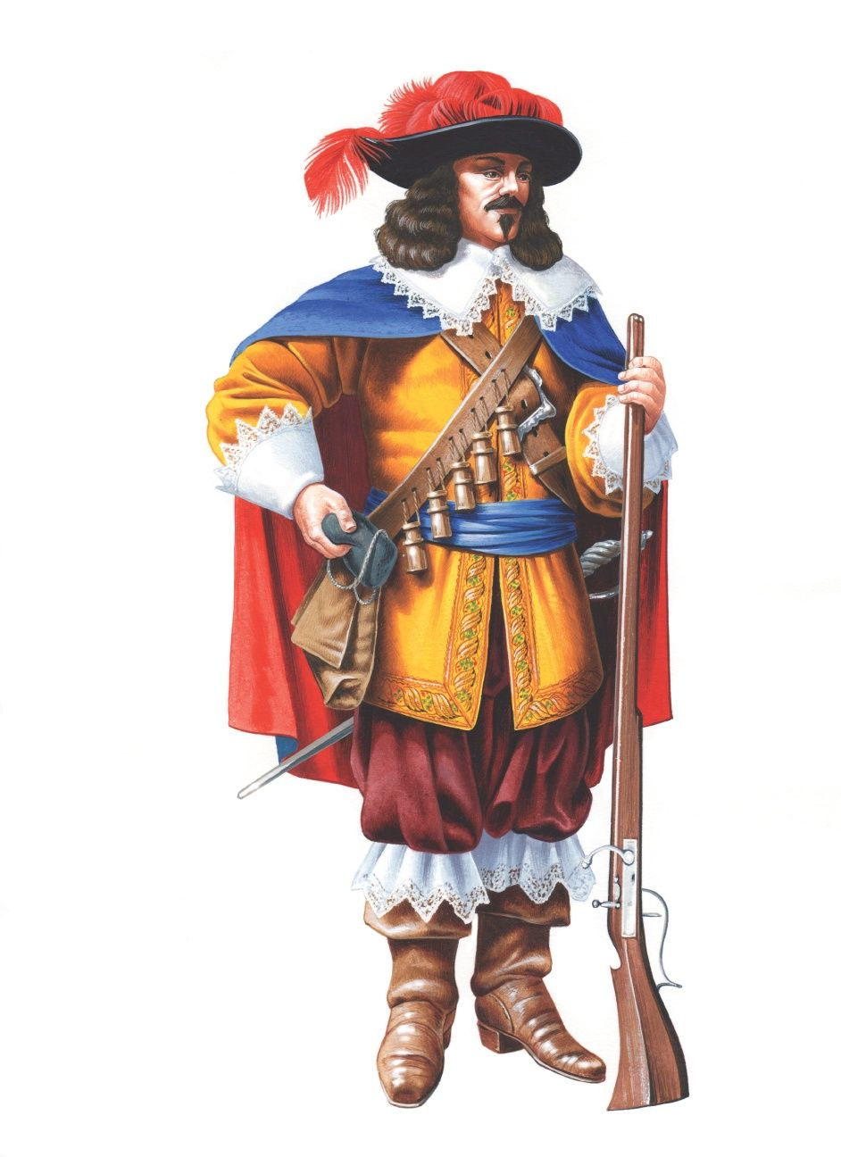 french musketeer thirty years war thirty years war art musketeer google search