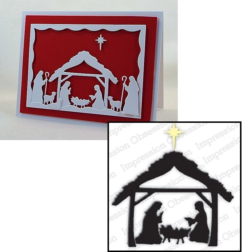 Craft-House 'Christmas Nativity/' Cutting Die