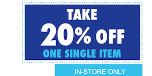 Bed Bath & Beyond 20 Off One Item InStore Bed bath