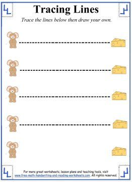 math worksheet : 1000 images about classroom line tracing on pinterest  tracing  : Tracing Lines Worksheets For Kindergarten