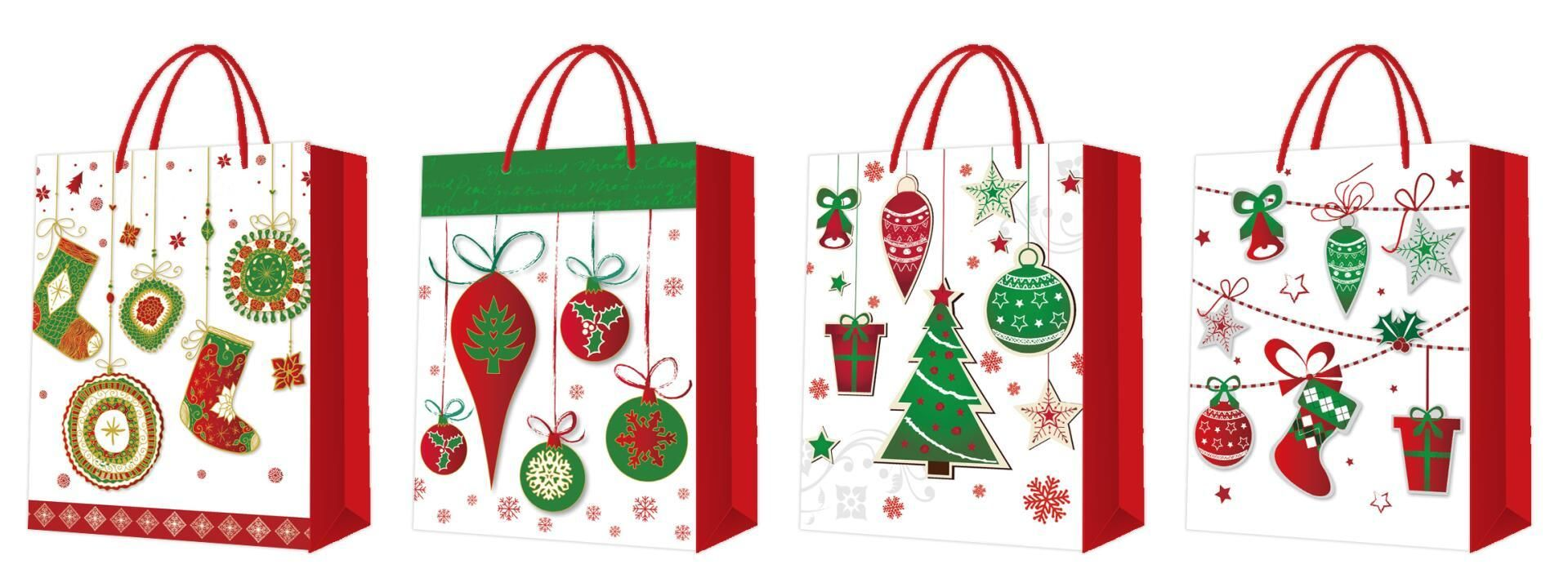 Jingle All The Way Christmasgiftbags Christmasshoppingbags Merrychristmas Bejollly Seasonalgreeting Hap Custom Gift Bags Jingle All The Way Gift Packaging
