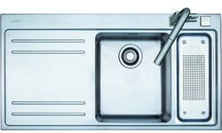 Franke Mythos Stainless Steel Double Bowl Topmount Sinks #kitchensource #pinterest #followerfind