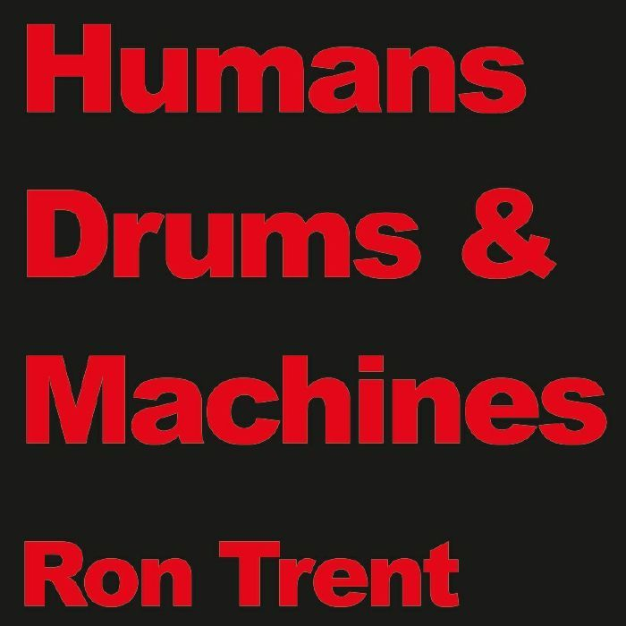The artwork for the vinyl release of: Ron Trent - Drums (Electric Blue) #music House