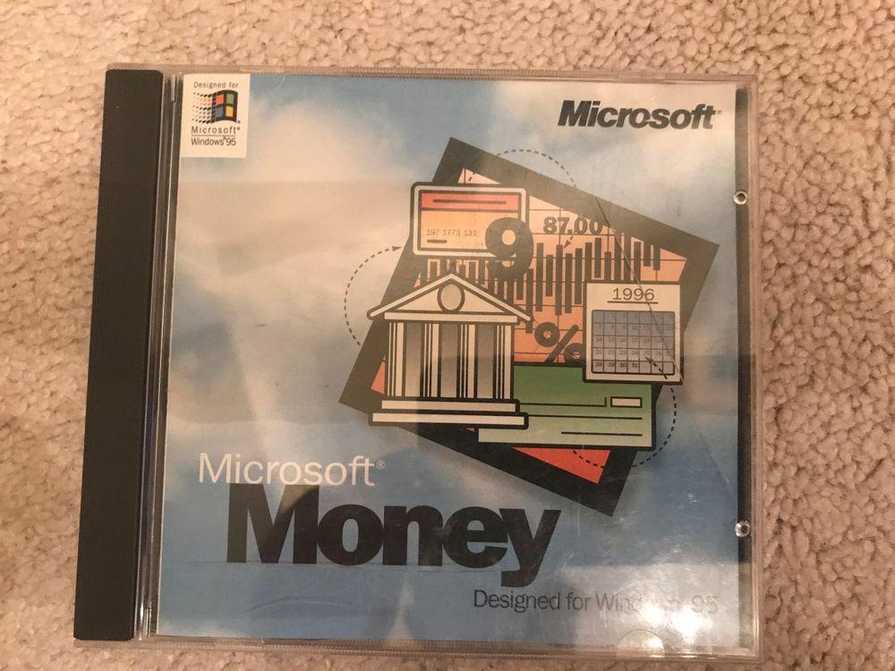 microsoft money cd designed for windows 95 free shipping