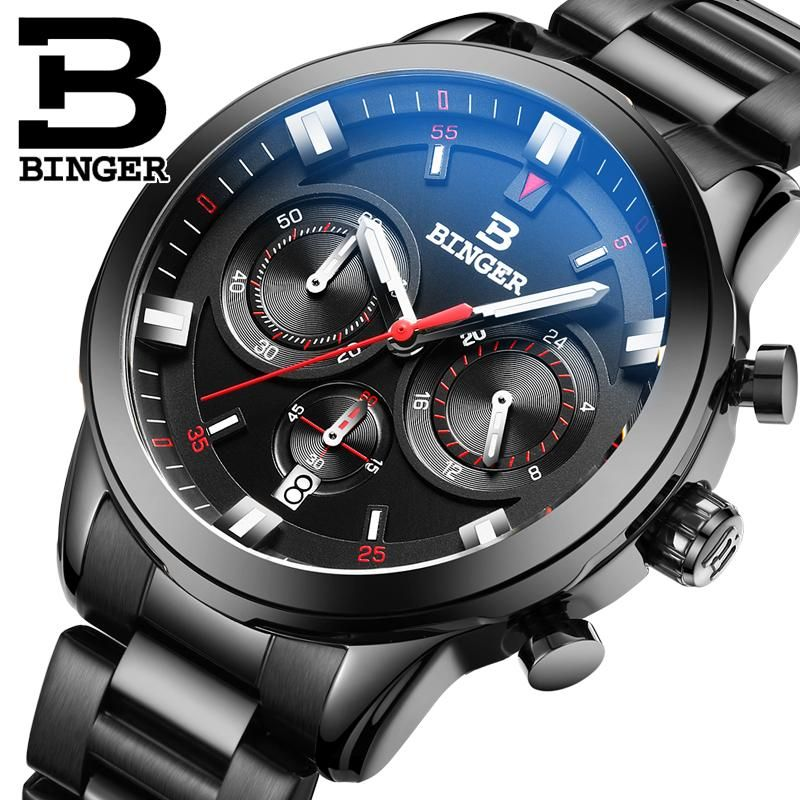 Binger leiting   Watches for men, Fashion watches, Luxury