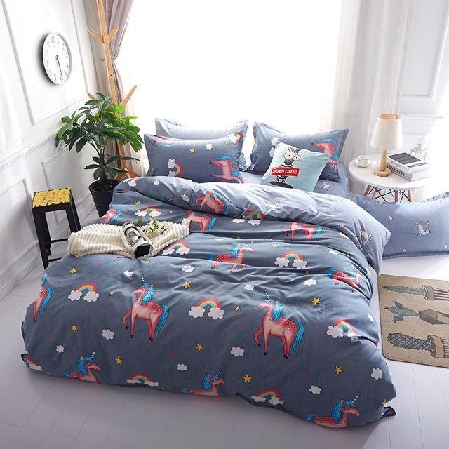 ca363c2db151 Cartoon Stripe Batman 3 4pcs bedding sets bed set bedclothes for kids bed  linen Duvet Cover Bed sheet Pillowcase