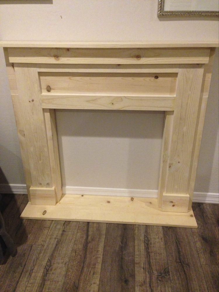 DIY Faux Fireplace & Mantel   Rebecca Propes Design & DIY