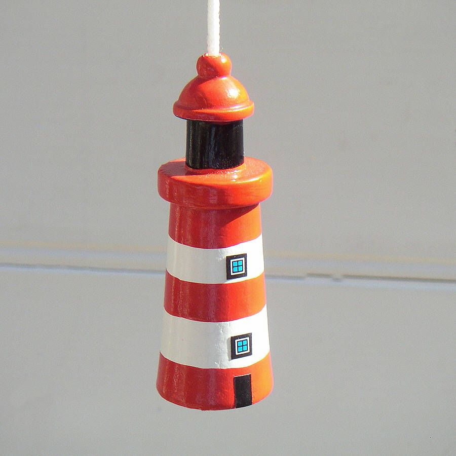 Lighthouse bedroom decor - One For A Nautical Themed Bathroom Lighthouse Light Pull Made By Buy The Sea