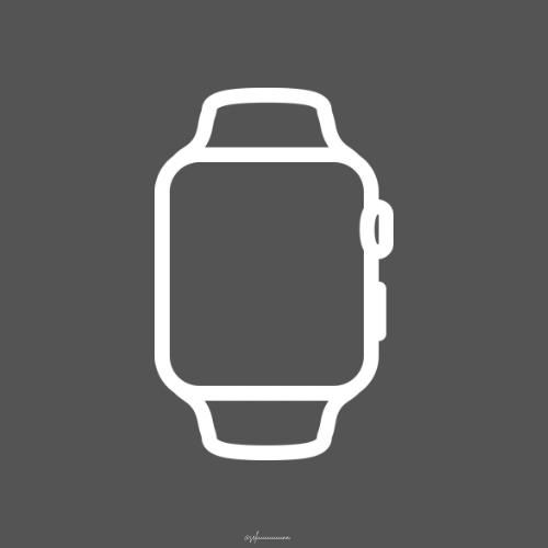 Apple Watch App Icon Black App Icon Apple Watch Apps Custom Icons
