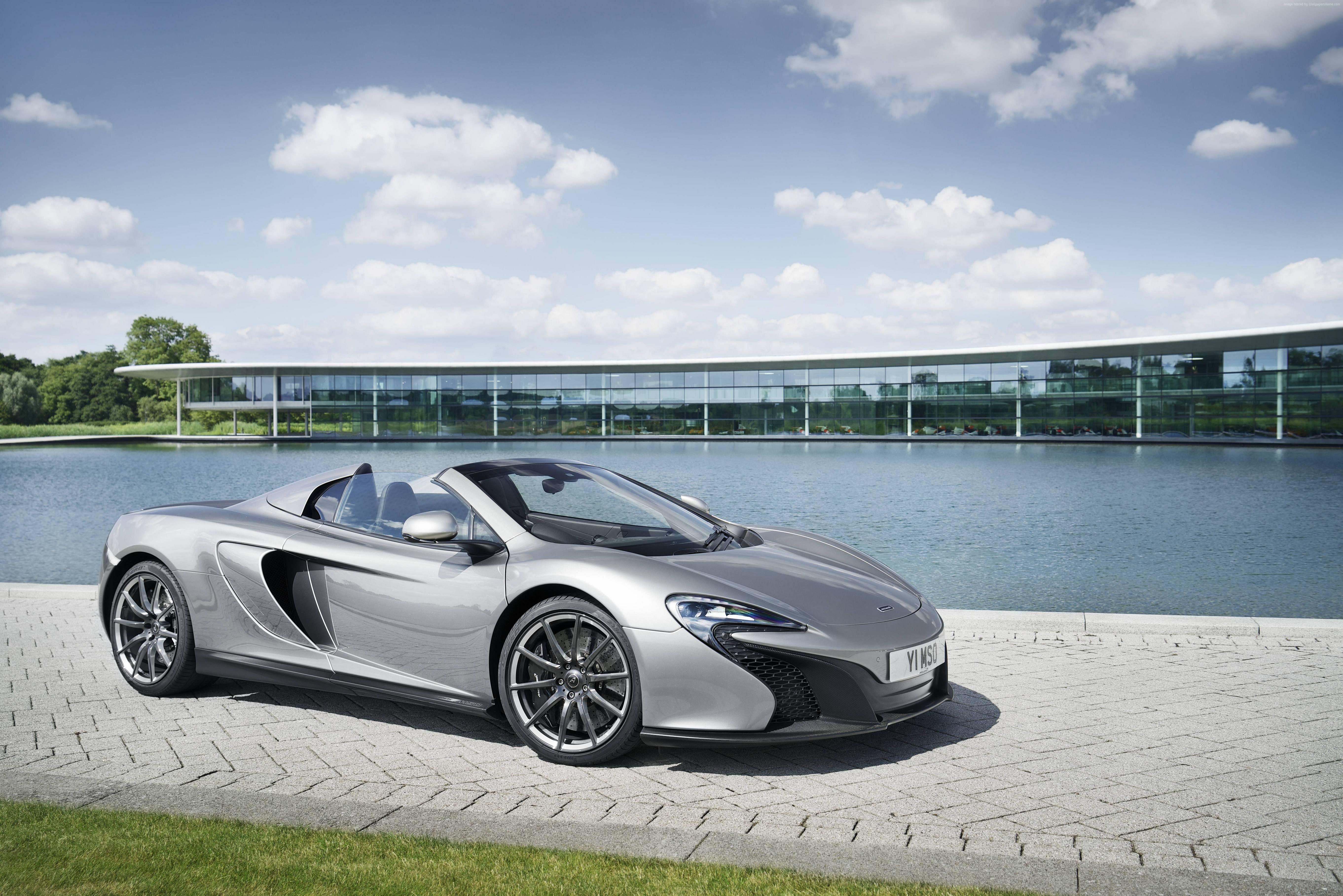 McLaren p Supercar supercars cars Satin Ice Silver wallpaper | 3D ...