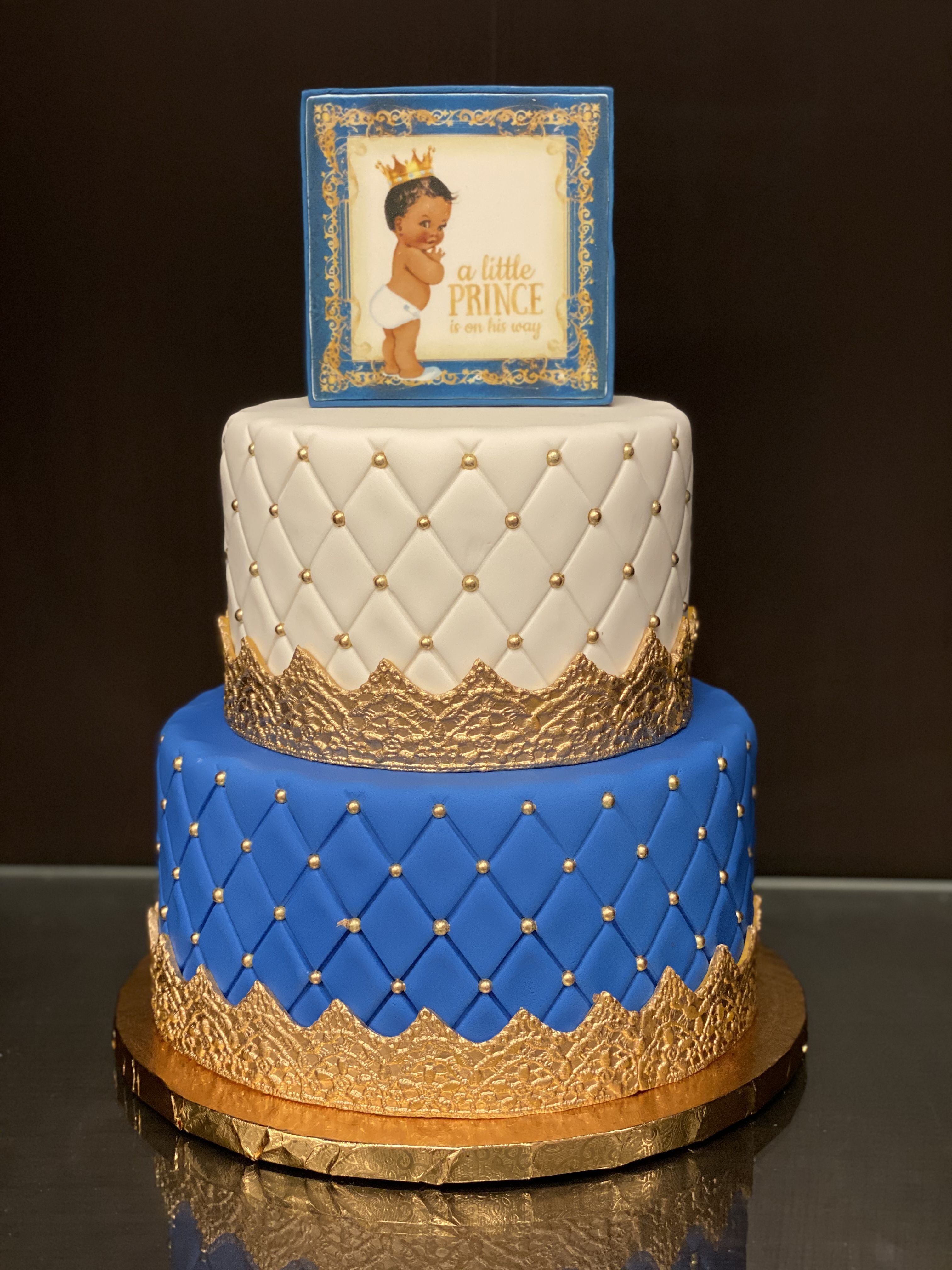 Pin by Gourmet Goodies, Cupcake & Bak on Baby Shower Cakes ...