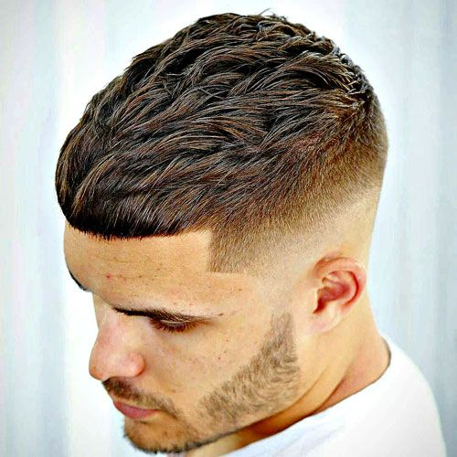30 Simple Low Maintenance Haircuts For Men 2020 Update Fade Haircut Crop Haircut Crop Hair