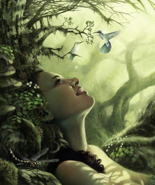 """Résultat de recherche d'images pour """"dame et oiseaux fantasy"""""""