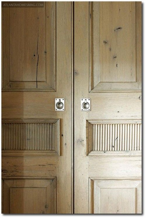 Bleached Pine Furniture Cupboard Doors Wood Door Latches