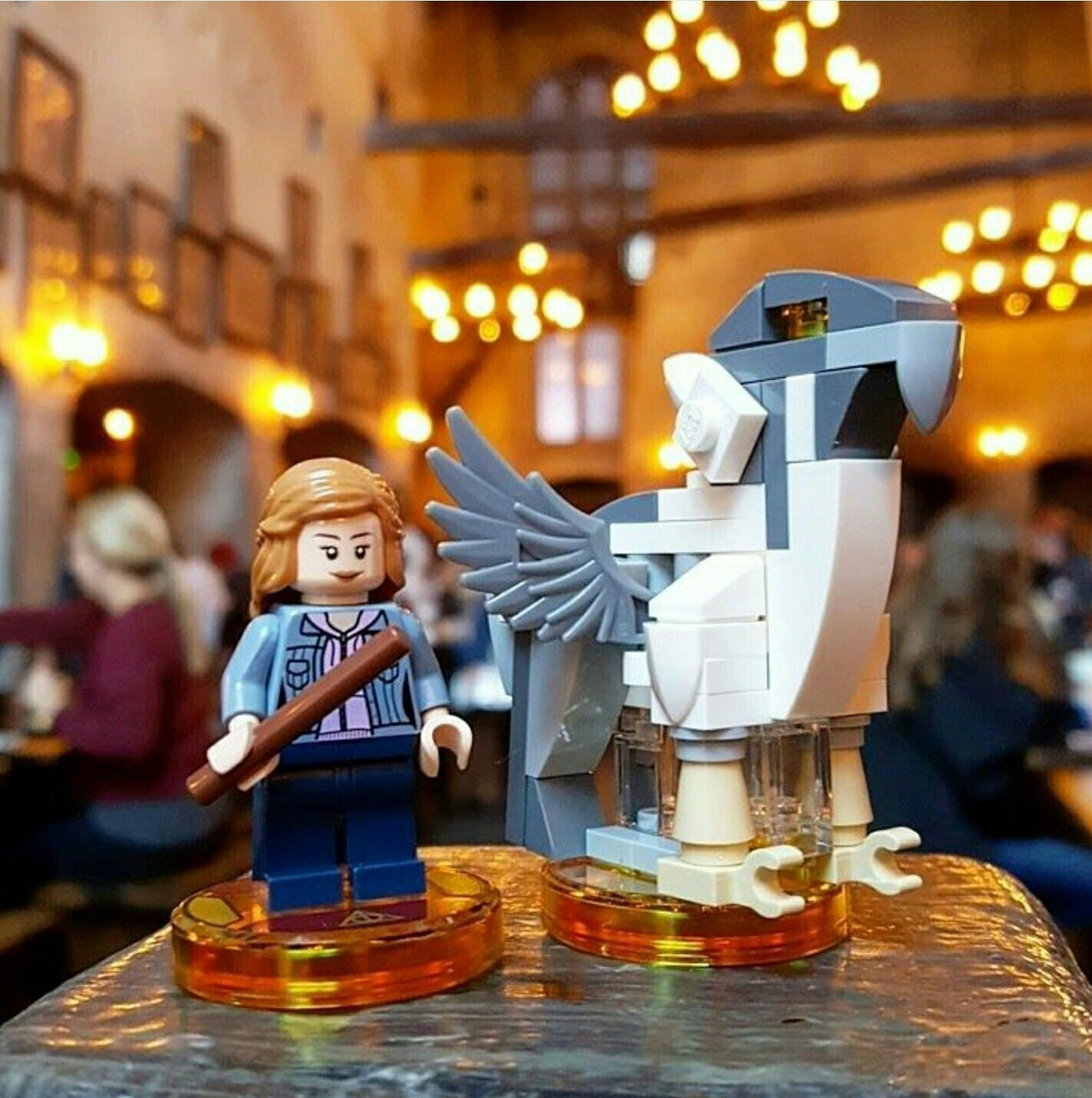 During this weekend s harry potter celebration at universal studios orlando lego dimensions fans got their