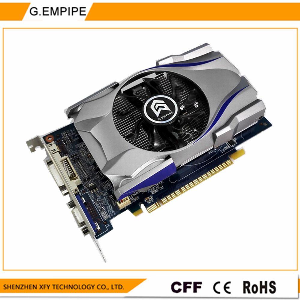 원래 그래픽 카드 GTX650의 1 기가바이트 DDR5 비트 pci 익스프레스 새겨 드 비디오 요리 graphique 비디오 카드 nvidia gtx 무료 배송
