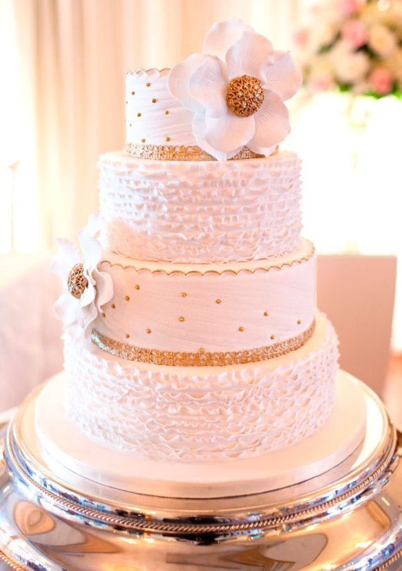 Beautiful Pink And White Wedding Cake Pictures - Styles & Ideas 2018 ...